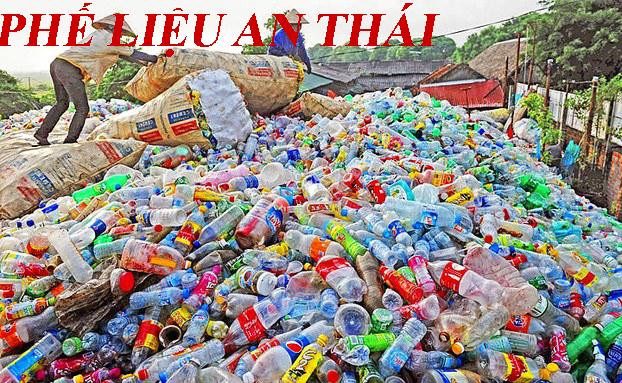 phế liệu nhựa thu gom