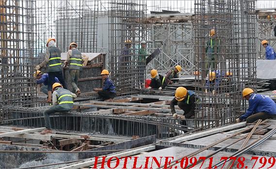 công trình xây dựng tòa nhà