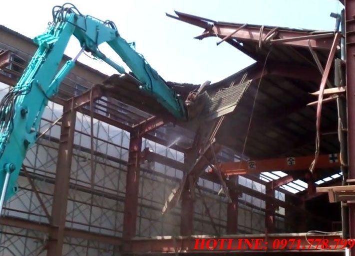 Thu mua thanh lý nhà xưởng cũ tại Hà Nội