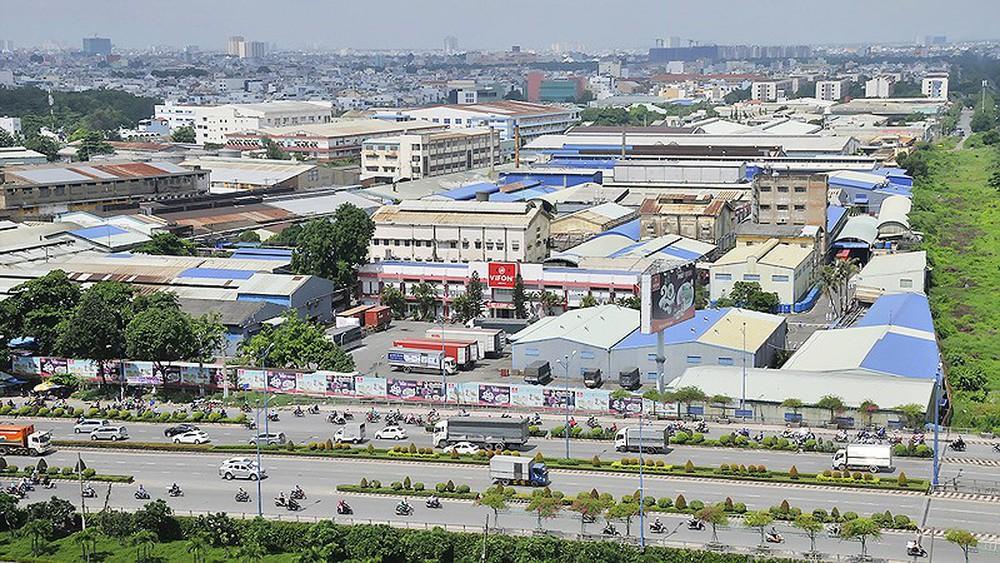 Ảnh khu công nghiệp Bình Xuyên tỉnh Vĩnh Phúc